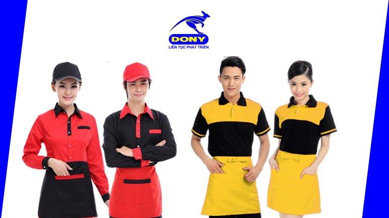 Xưởng thiết kế và may đồng phục quán Cafe 1
