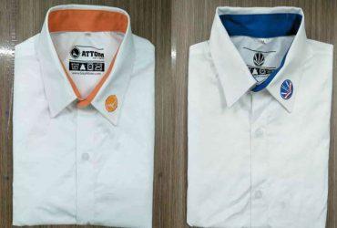 Xưởng thiết kế và may in áo sơ mi đồng phục công sở