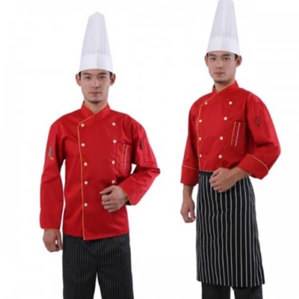Xưởng may áo đồng phục nhân viên nhà hàng - khách sạn 4