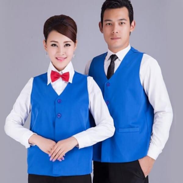 Xưởng may áo đồng phục nhân viên nhà hàng - khách sạn 18