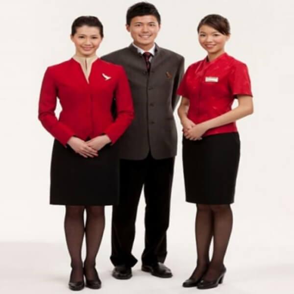 Xưởng may áo đồng phục nhân viên nhà hàng - khách sạn 21