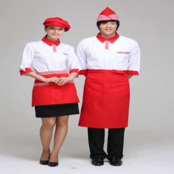 Xưởng may áo đồng phục nhân viên nhà hàng - khách sạn 22