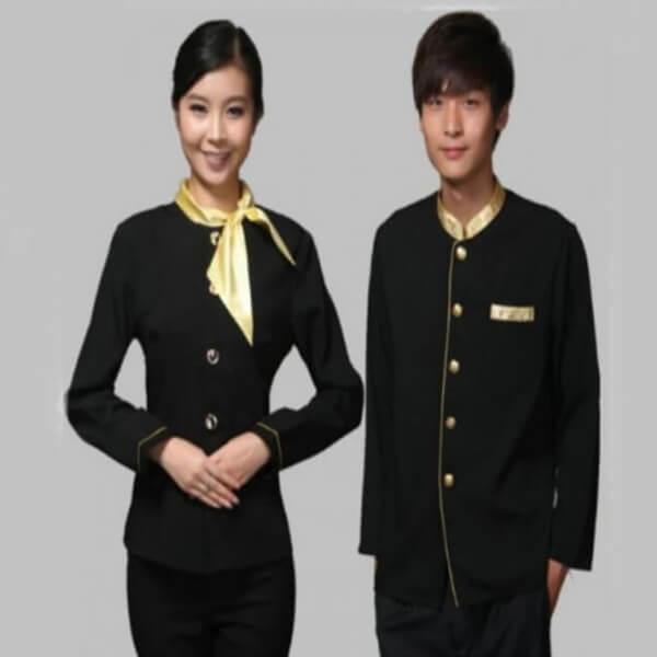 Xưởng may áo đồng phục nhân viên nhà hàng - khách sạn 23