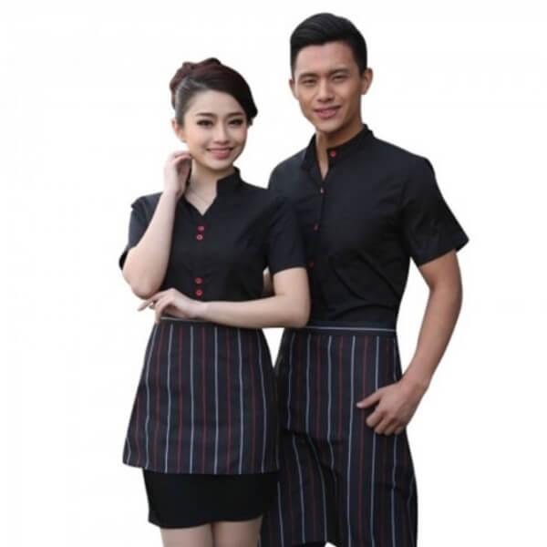 Xưởng may áo đồng phục nhân viên nhà hàng - khách sạn 25