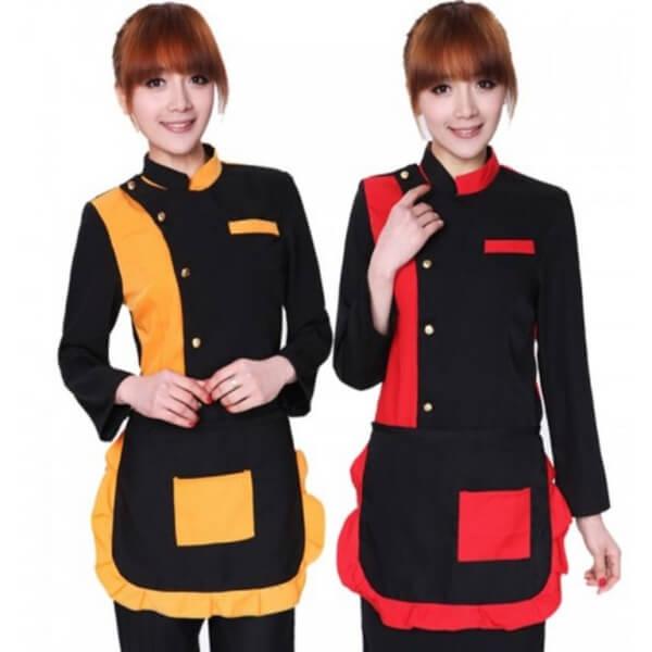 Xưởng may áo đồng phục nhân viên nhà hàng - khách sạn 26