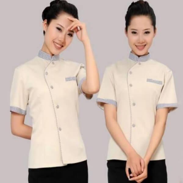 Xưởng may áo đồng phục nhân viên nhà hàng - khách sạn 12