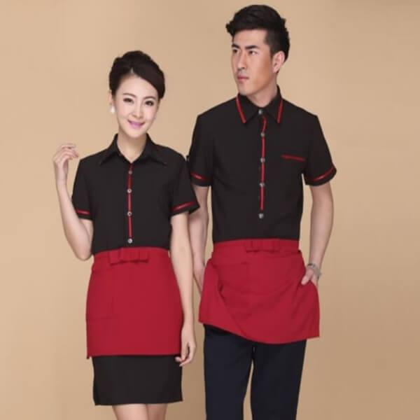 Xưởng may áo đồng phục nhân viên nhà hàng - khách sạn 13