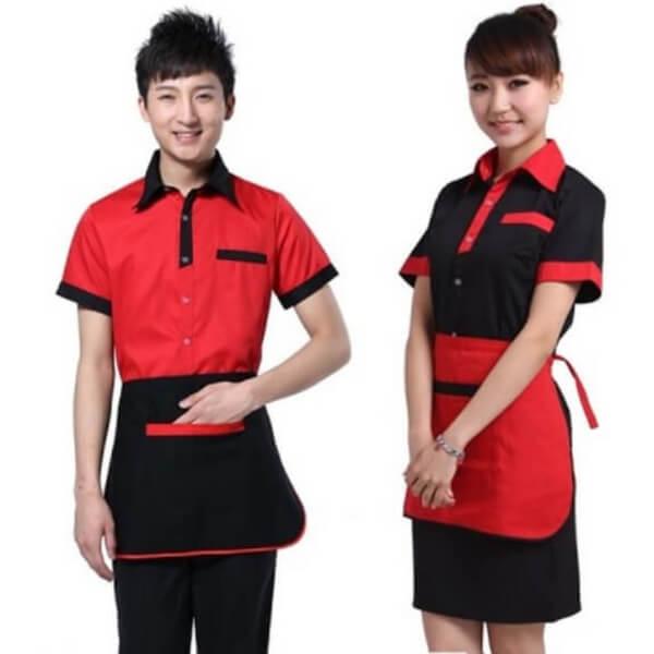 Xưởng may áo đồng phục nhân viên nhà hàng - khách sạn 14