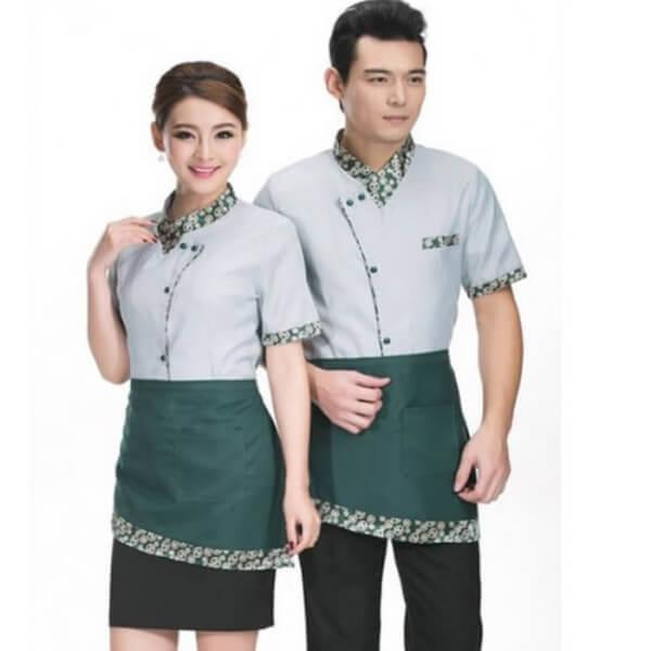 Xưởng may áo đồng phục nhân viên nhà hàng - khách sạn 15