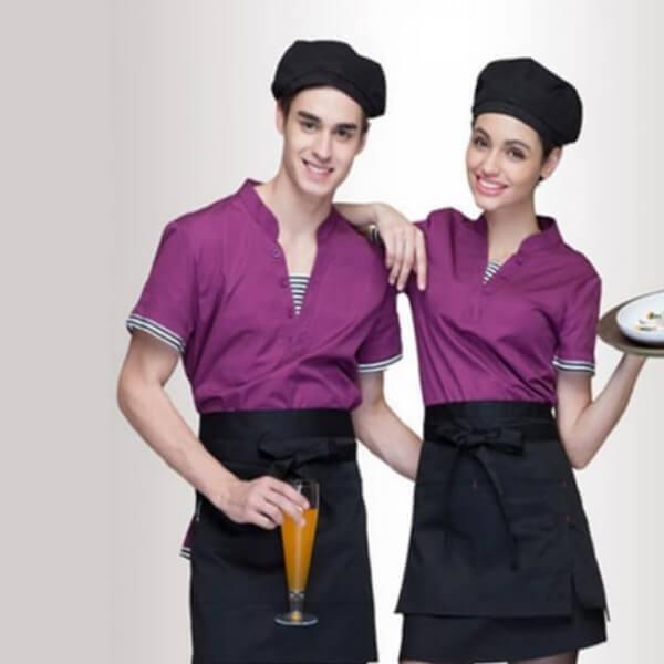 Xưởng may đồng phục quán Cafe 15