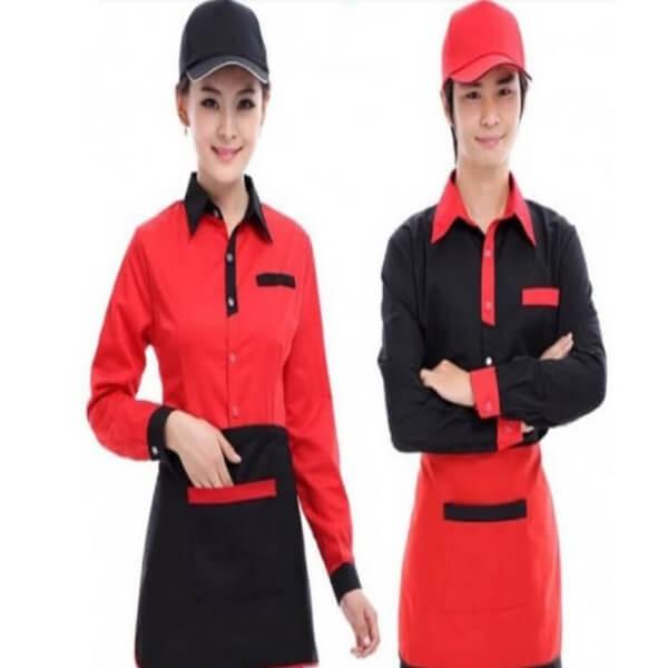 Xưởng may đồng phục quán Cafe 16