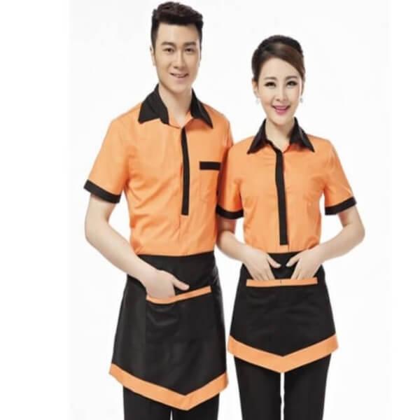 Xưởng may đồng phục quán Cafe 17