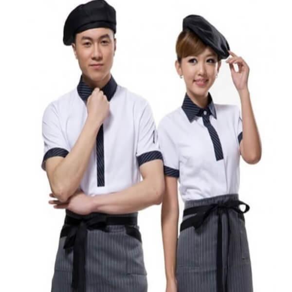 Xưởng may đồng phục quán Cafe 18