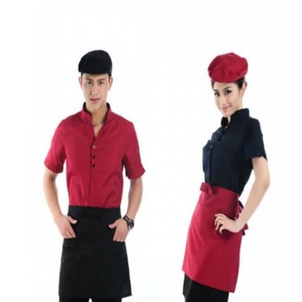 Xưởng may đồng phục quán Cafe 21