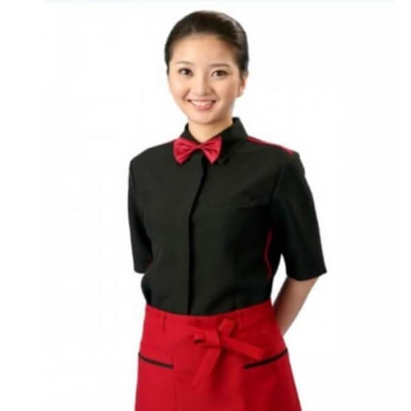 Xưởng may đồng phục quán Cafe 23