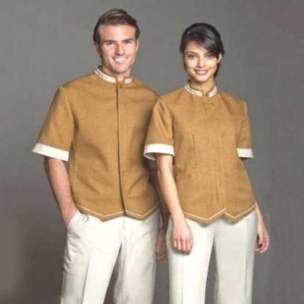 Xưởng may váy đầm đồng phục SPA và thẩm mỹ viện 10