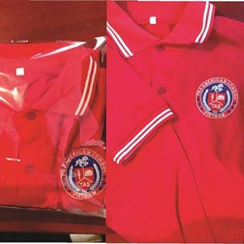 Áo thun, quần tây và váy đồng phục cho trường quốc tế Mỹ Viêt