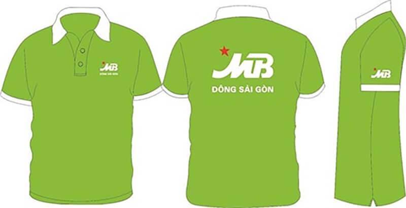 Thiết kế đồng phục áo thun ngân hàng Quân Đội
