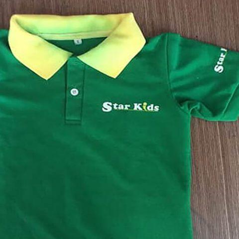 DONY giao đồng phục áo thun thiếu nhi cho Starkids Việt Nam – Chi nhánh Bình Dương