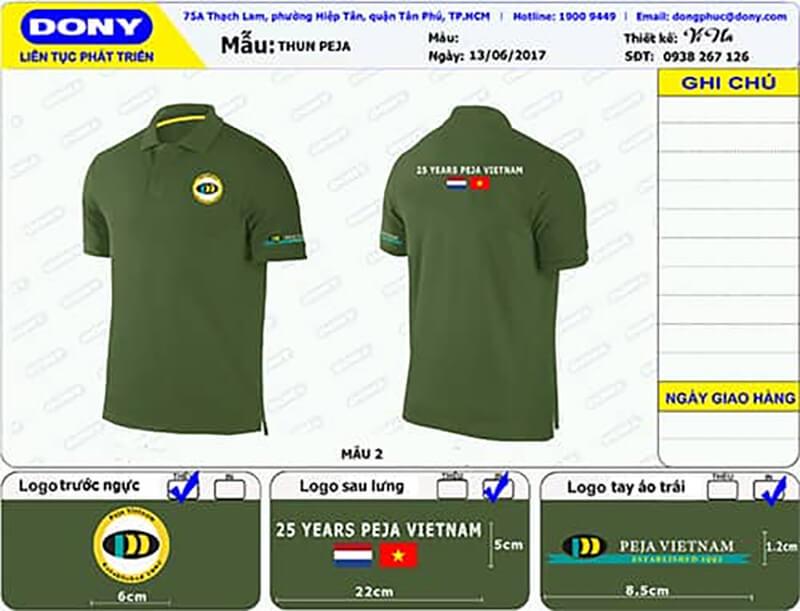 File thiết kế áo thun khách duyệt
