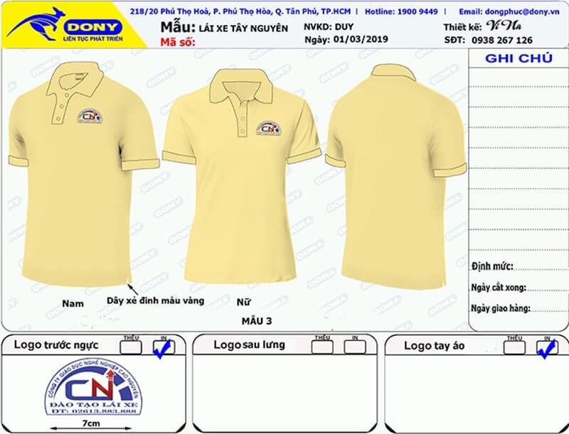 File thiết kế áo thun Cao Nguyên
