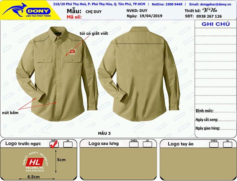 File thiết kế áo HL