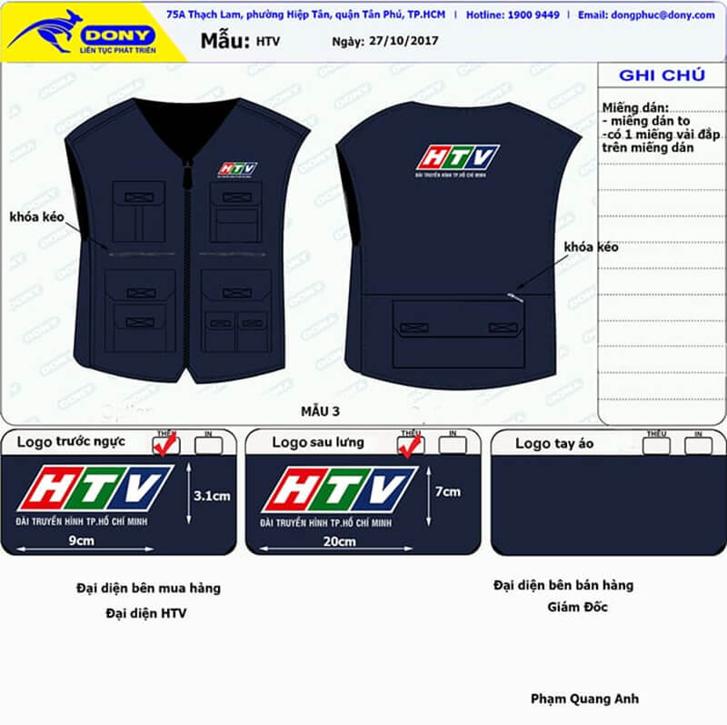 File thiết kế HTV