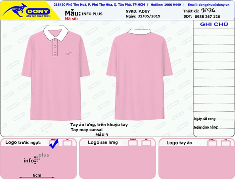 File thiết kế áo thun Info Plus