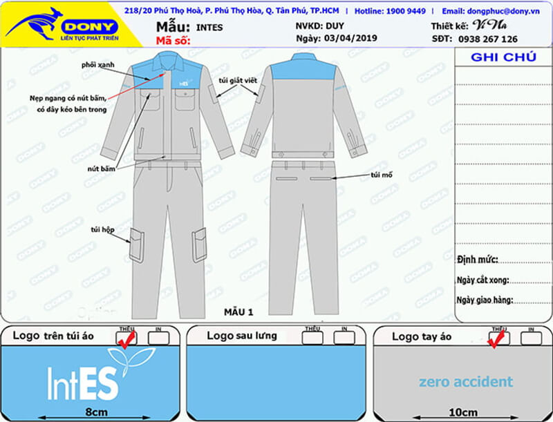 File thiết kế bảo hộ Intes
