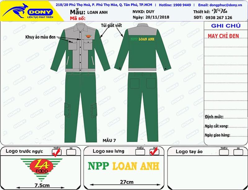 File thiết kế bảo hộ Loan Anh