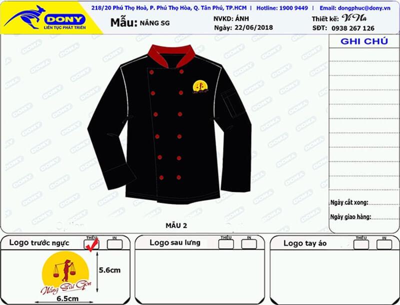 File thiết kế áo bếp Nắng Sài Gòn