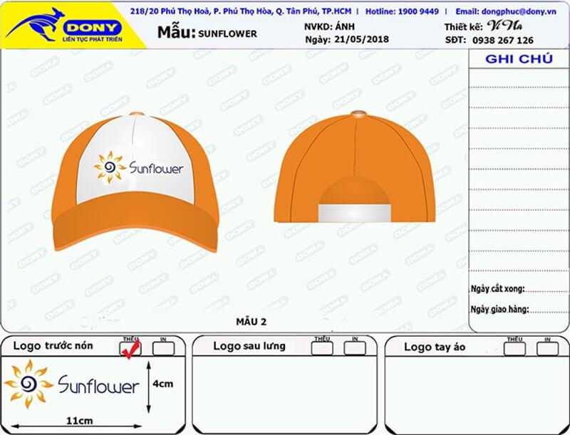 File thiết kế nón