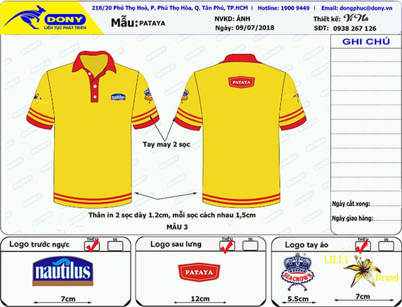 File thiết kế áo Pataya