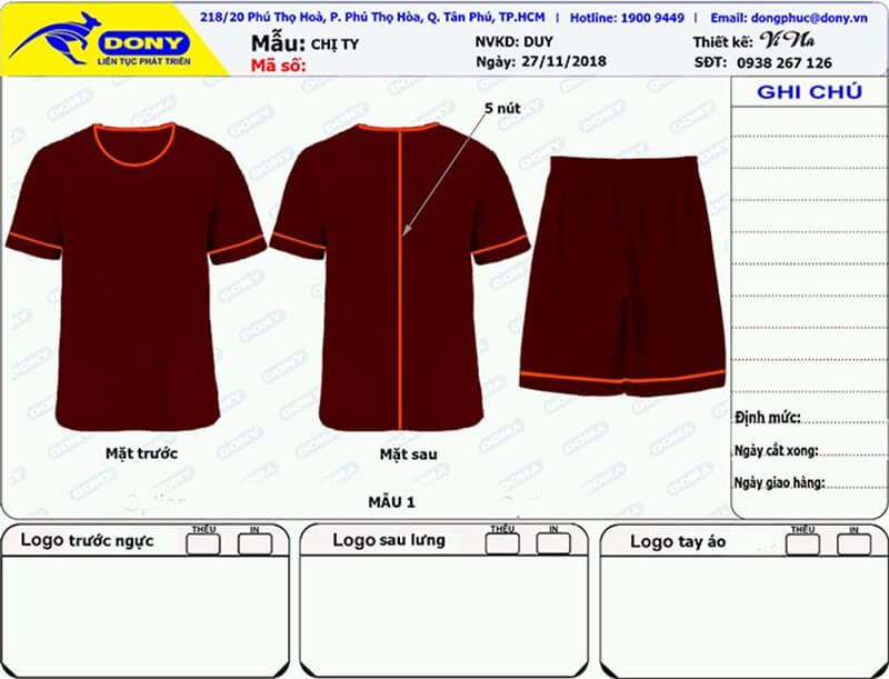 File thiết kế đồng phục spa