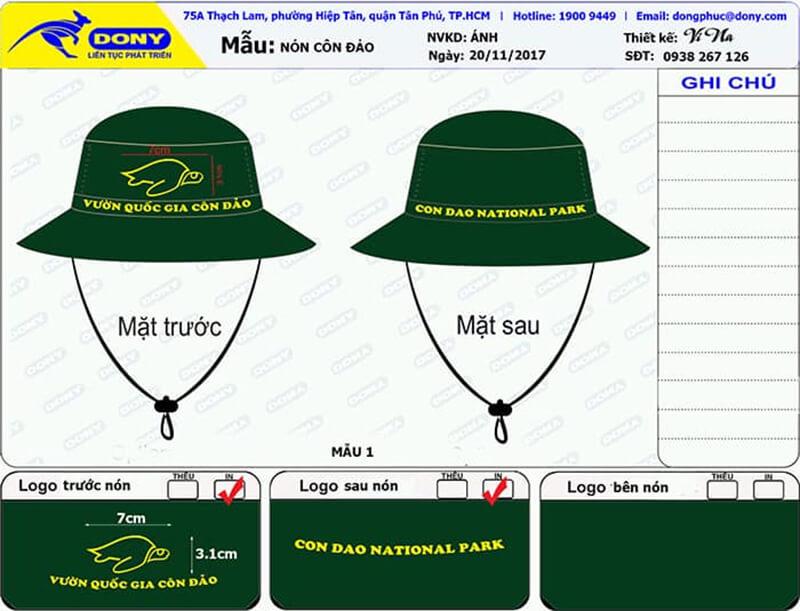 File thiết kế nón tai bèo