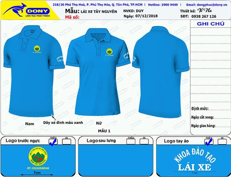 File thiết kế áo thun Nam Tây Nguyên