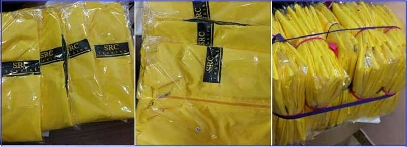 Giao hàng đồng phục áo khoác công ty