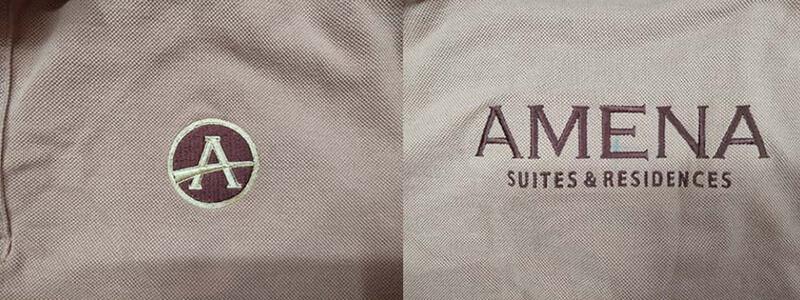 Logo thêu Amena