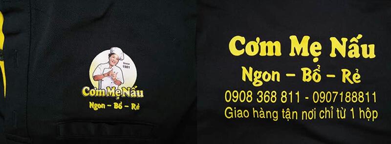 Logo in Cơm Mẹ Nấu