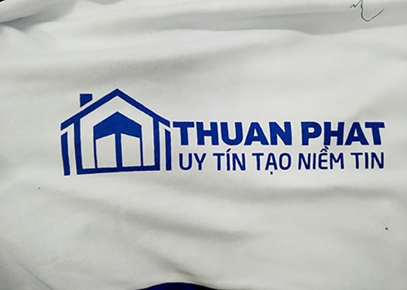 Logo của công ty được in rất nét và rõ ràng