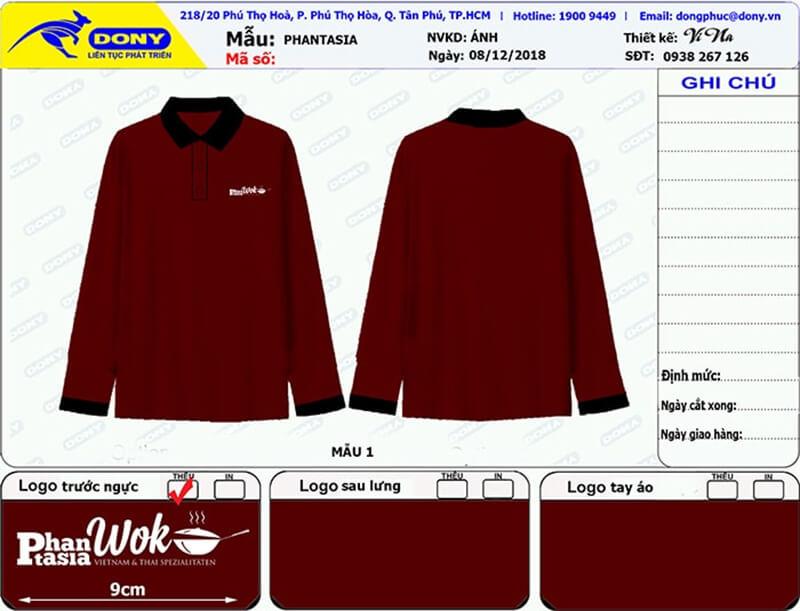 File thiết kế áo tay dài