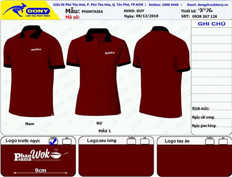 File thiết kế áo tay ngắn