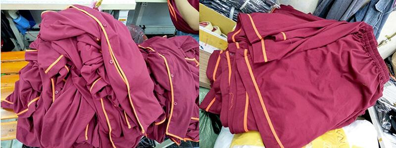 Thân áo và quần