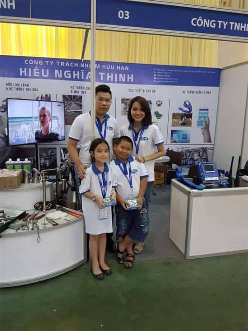 Triển lãm quốc tế ngành sữa đầu tiên tại Việt Nam