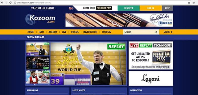 Website của công ty Kozoom
