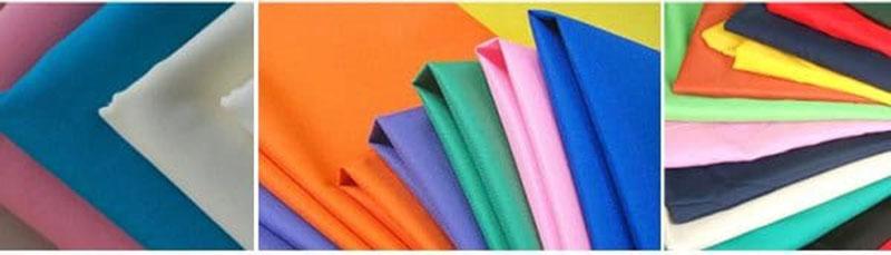 vải may đồng phục đa dạng màu sắc và chất liệu