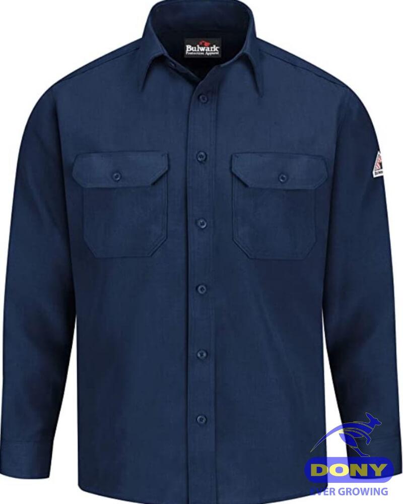 Xưởng may áo sơ mi đồng phục nam nữ công sở 19