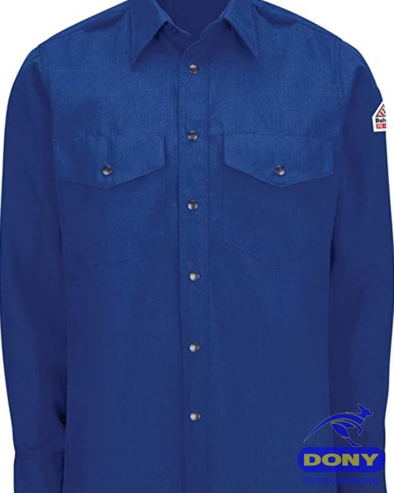 Xưởng may áo sơ mi đồng phục nam nữ công sở 20