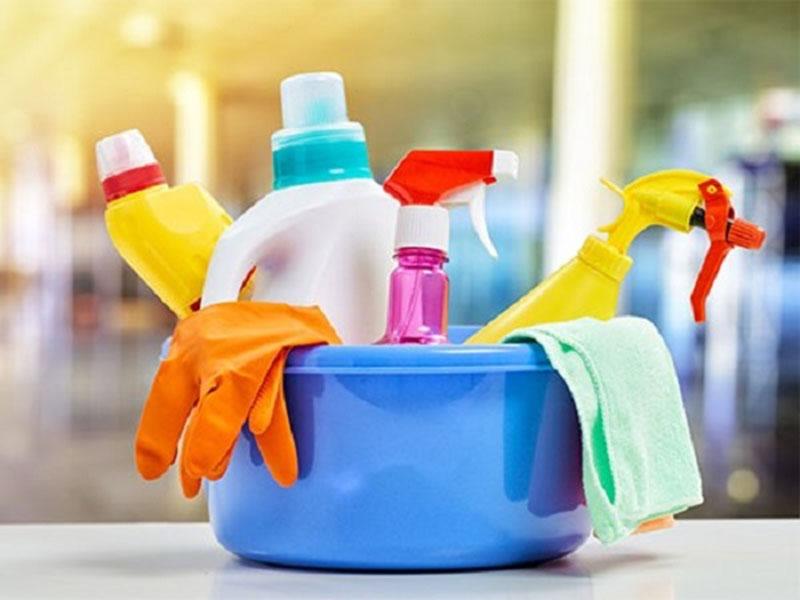 Hạn chế sử dụng các chất tẩy rửa