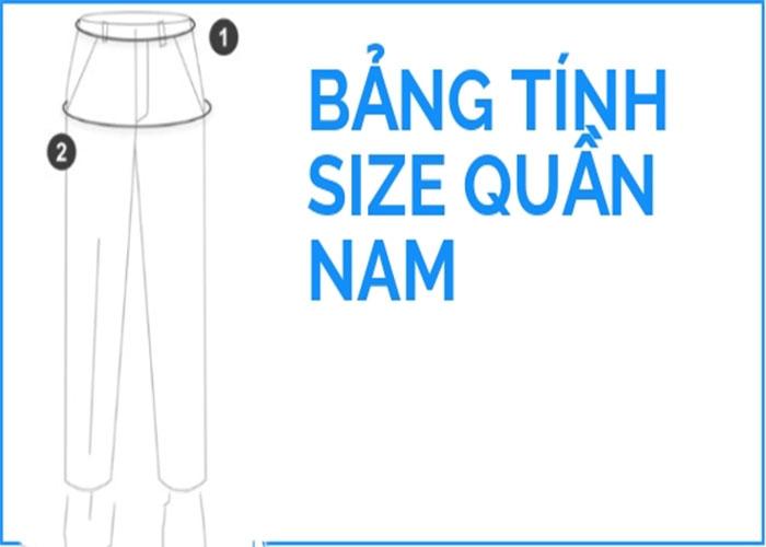Hướng dẫn cách đo size quần tây nam